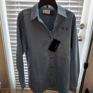 BRAND NEW Bushland Outfitters Denim Button-Down